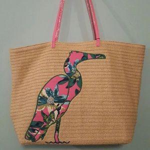 Vera Bradley Seashore beach swim bag and pouch